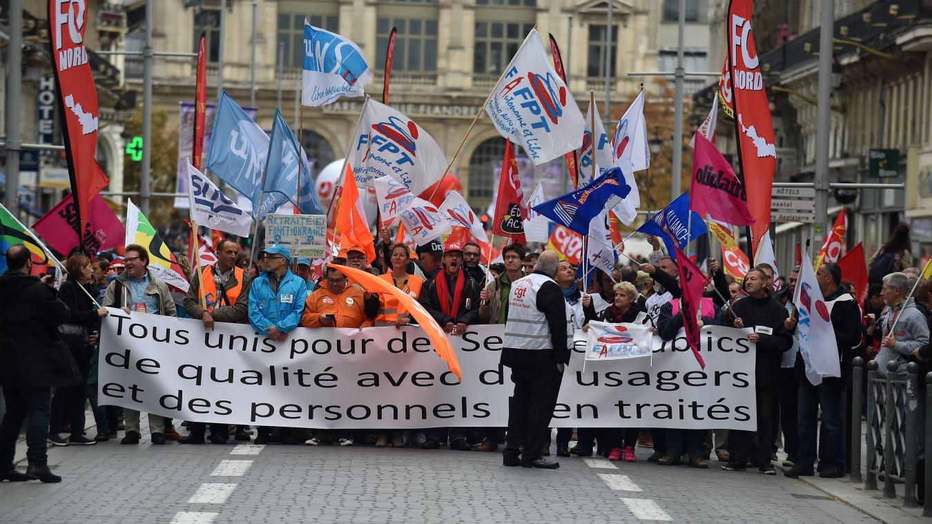 db720a0d6b6 Nord – Pas-de-Calais  Les syndicats de fonctionnaires appellent à la ...