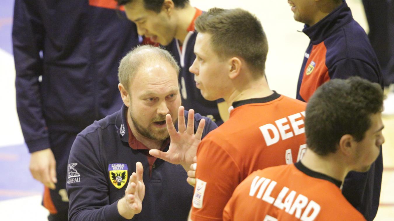 Vadim Deev, l'un des valeurs sûres de cette équipe de Cambrai parfaitement managée par Gabriel Denys. PHOTO VINCENT BERTIN (CLP)