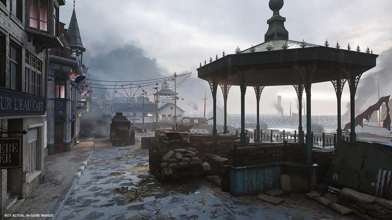 Jeu vidéo - Dunkerque dans Call of Duty-World War II