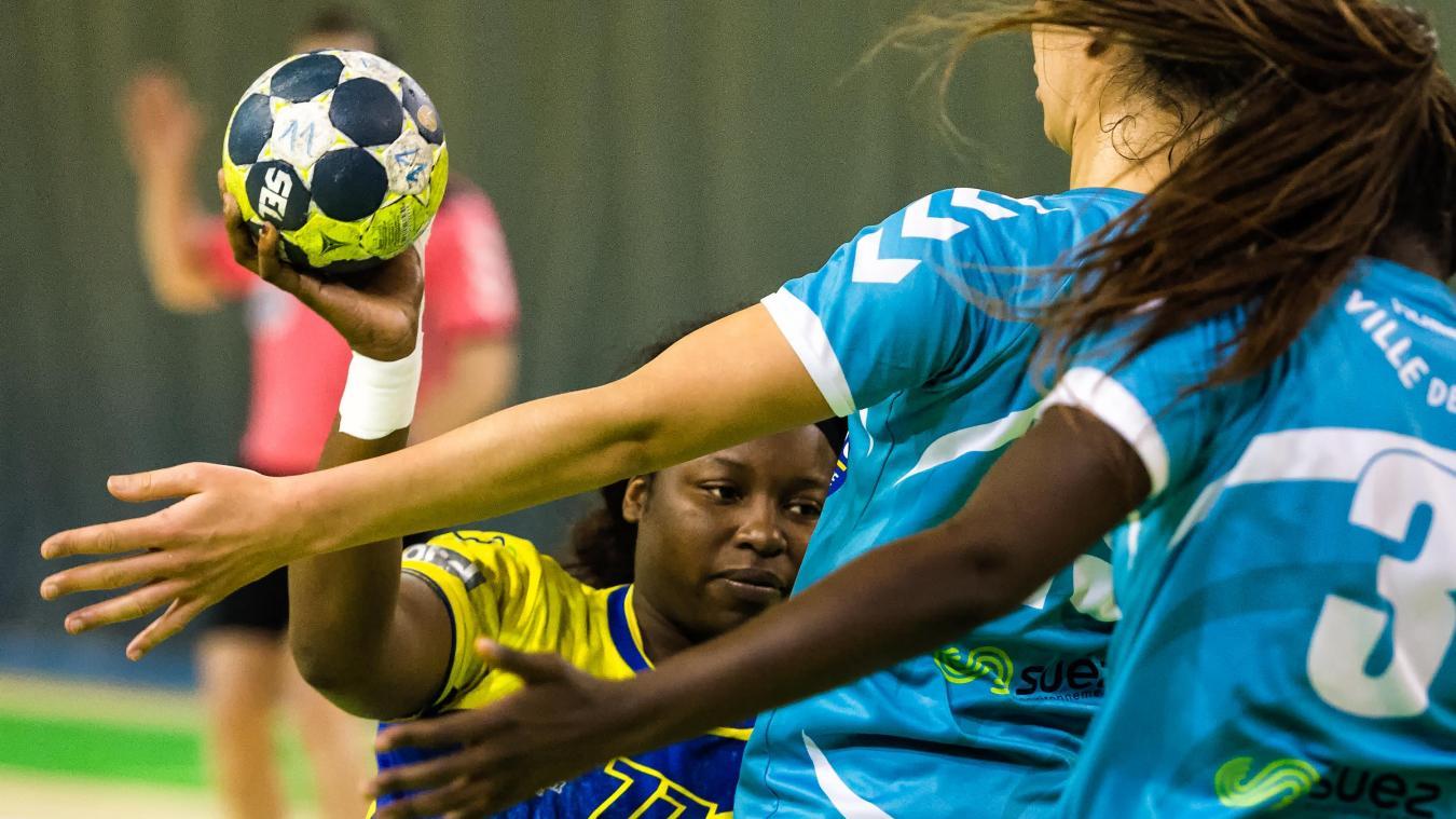 Handball d2f: avec un nul saint amand évite le pire face à yutz