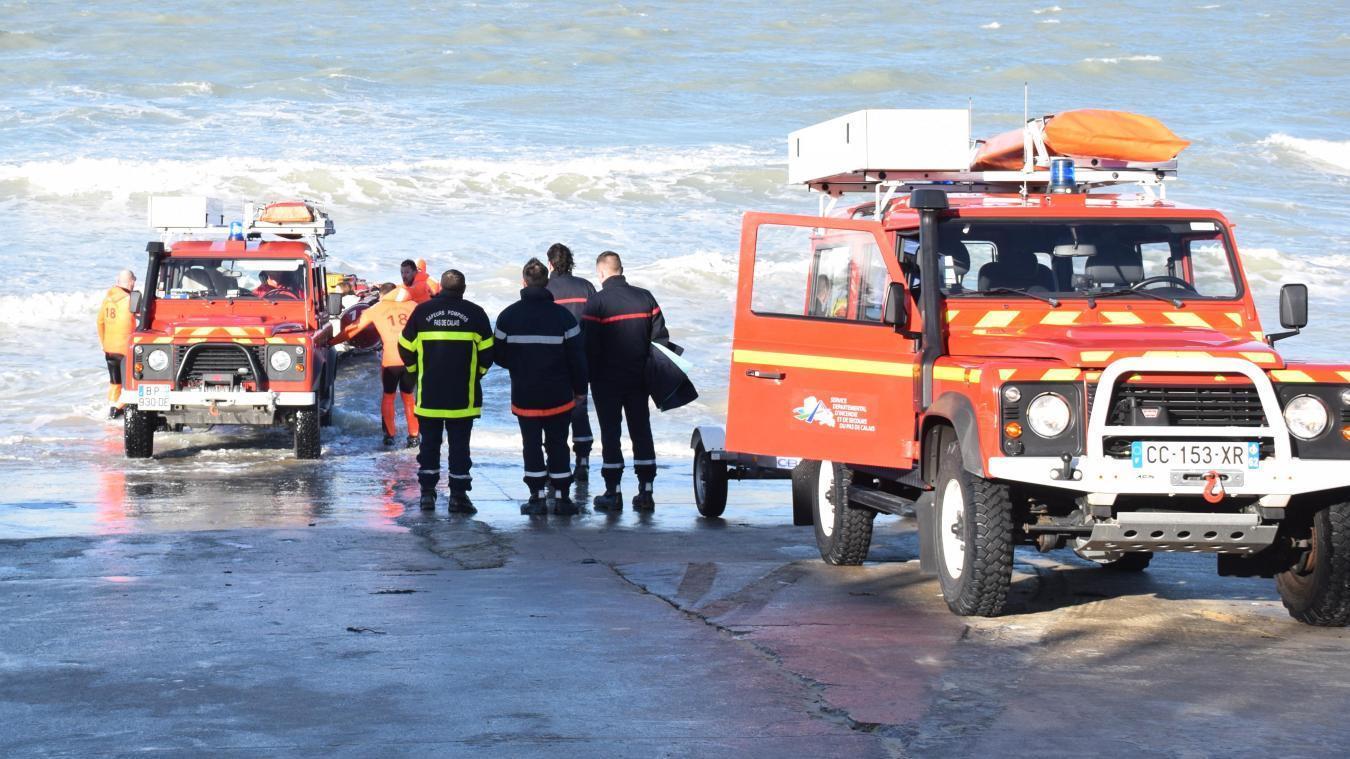 Pour un sauvetage de personnes piégées par la marée, une dizaine de professionnels sont nécessaires.