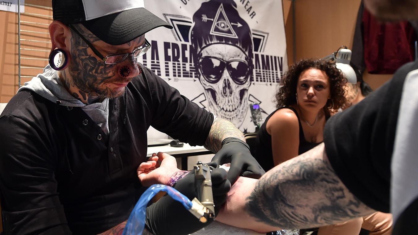 Lille Au Lille Tattoo Festival Ils Font De Votre Corps Une œuvre D Art