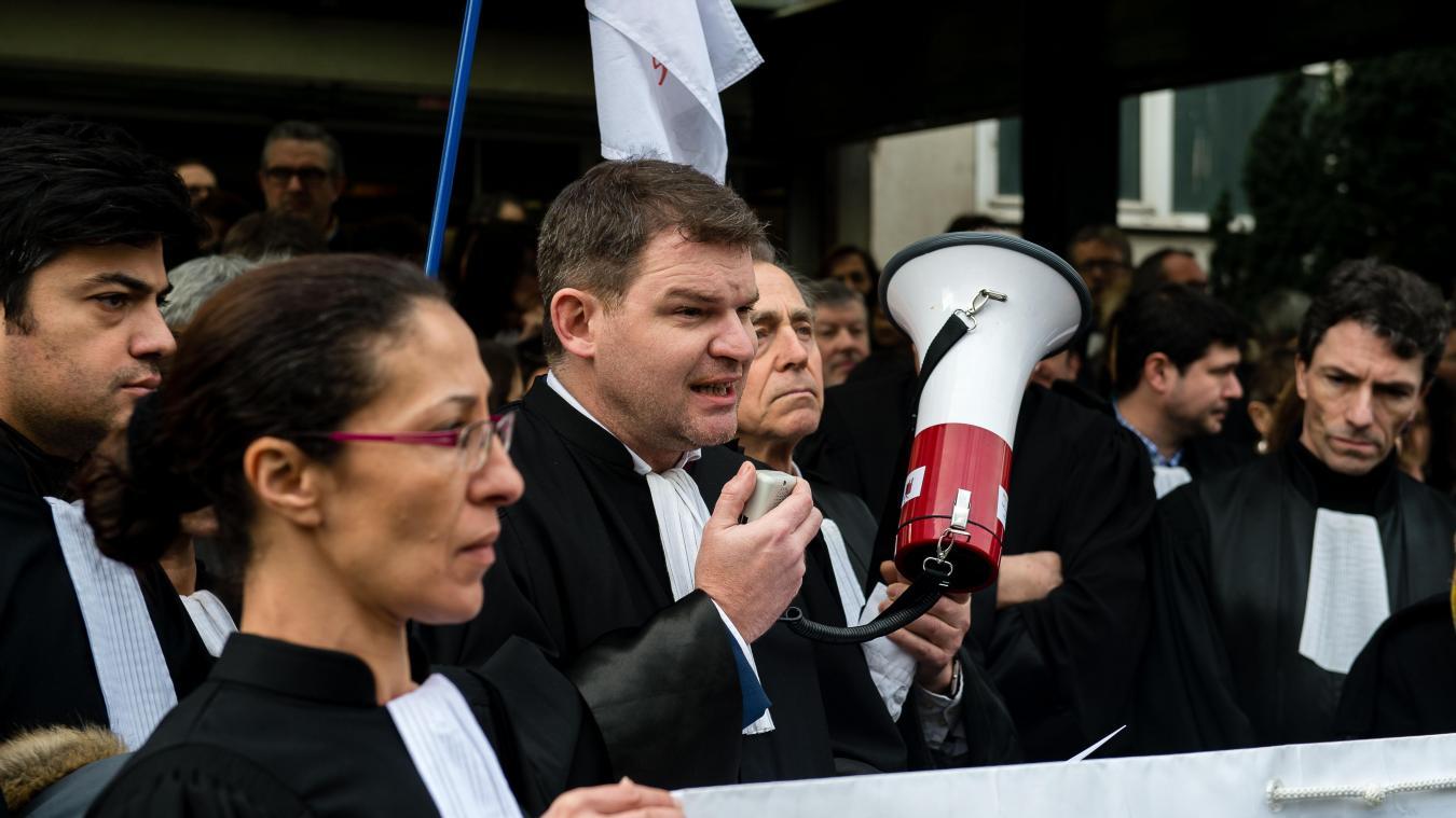 Nouvelle journée justice morte et colère des avocats — Lorraine