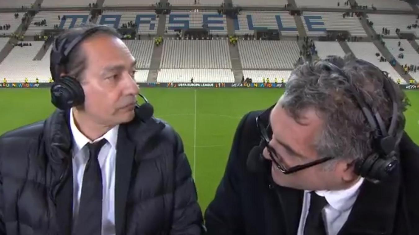 Une sortie homophobe du commentateur Denis Balbir fuite sur Twitter — Ligue Europa