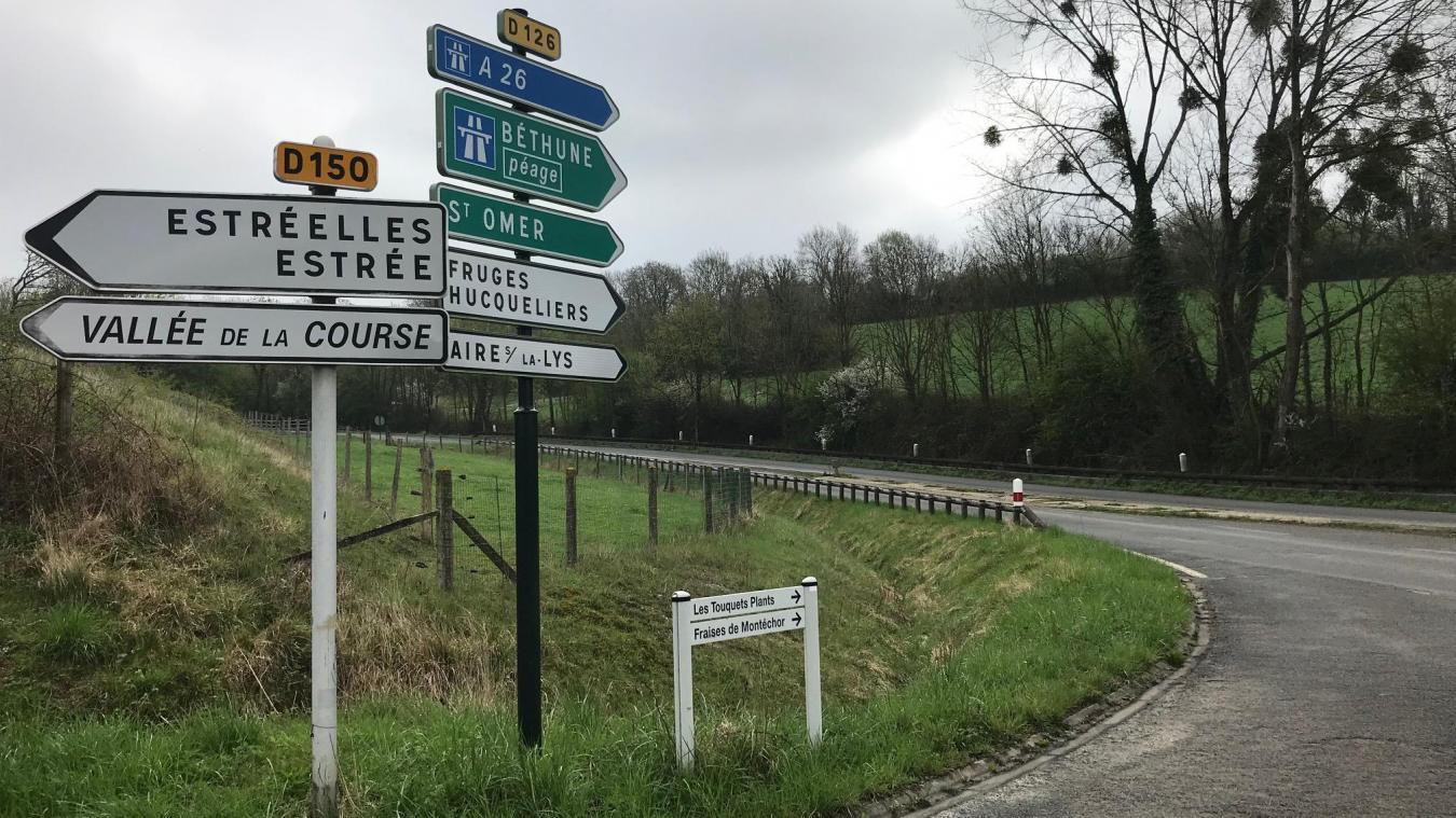 Le drame s'est produit dans la commune d'Estrée, près de Montreuil.