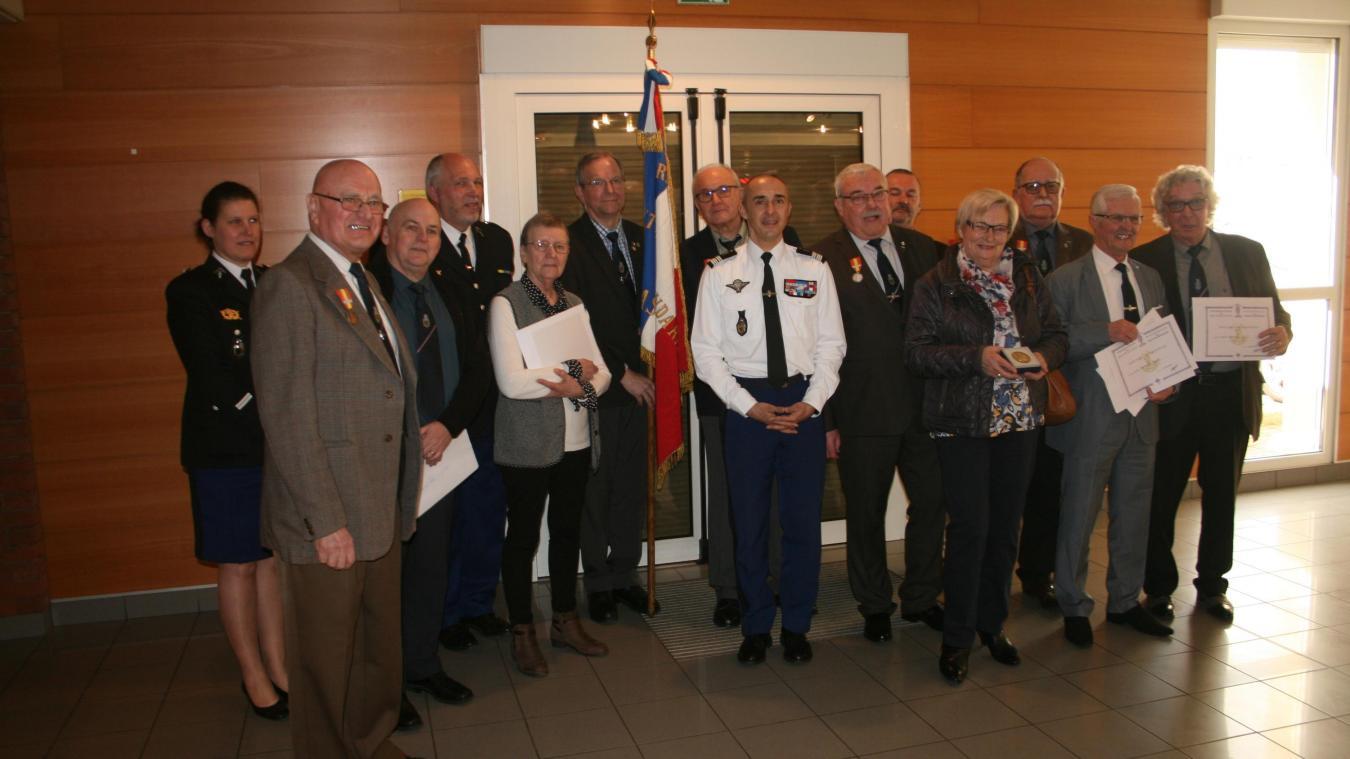 Tincques D Anciens Gendarmes Invites A Devenir Retraites Vigilants