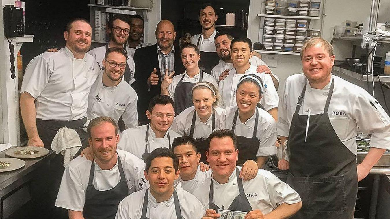 Un pourboire de 1 650 euros dans un restaurant — Chicago