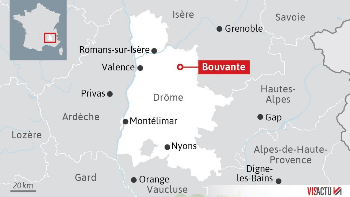 Six spéléologues coincés dans une grotte depuis mardi matin — Drôme