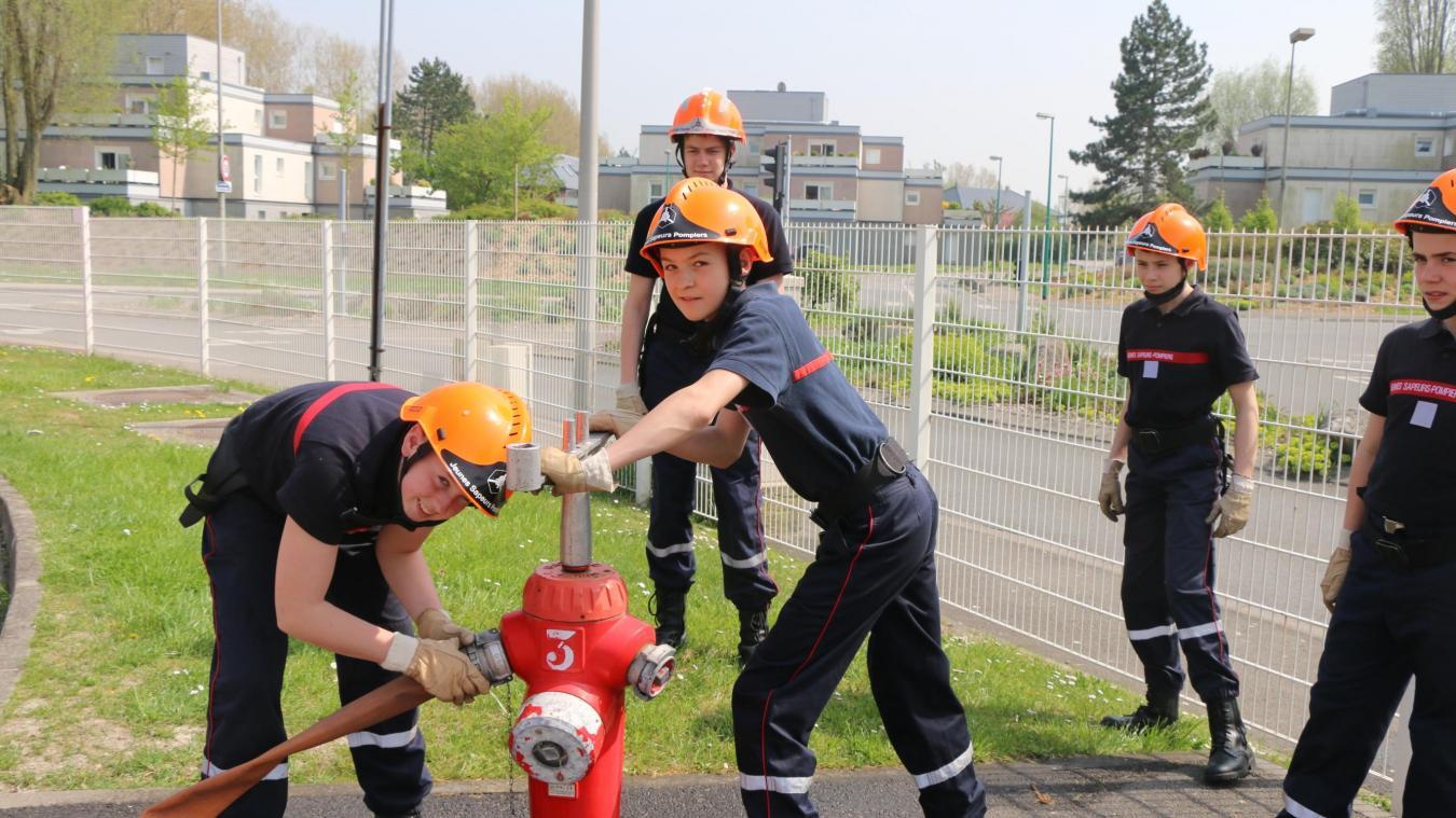 Gravelines L école Des Jeunes Sapeurs Pompiers Recrute