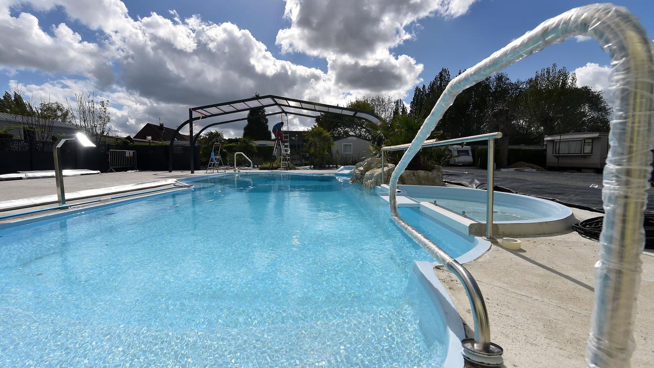 la piscine du camping des roses sera couverte et chauffe photo florent moreau