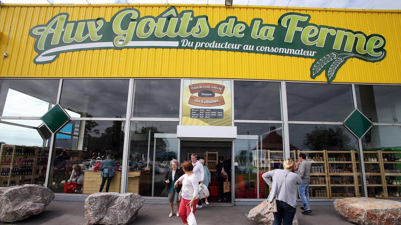 La Boutique De Producteurs Locaux Aux Gots Ferme Accueille En Moyenne 400 Clients Les