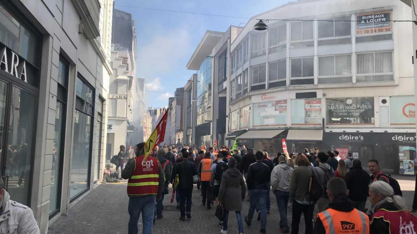 Le trafic en légère hausse — Grève SNCF