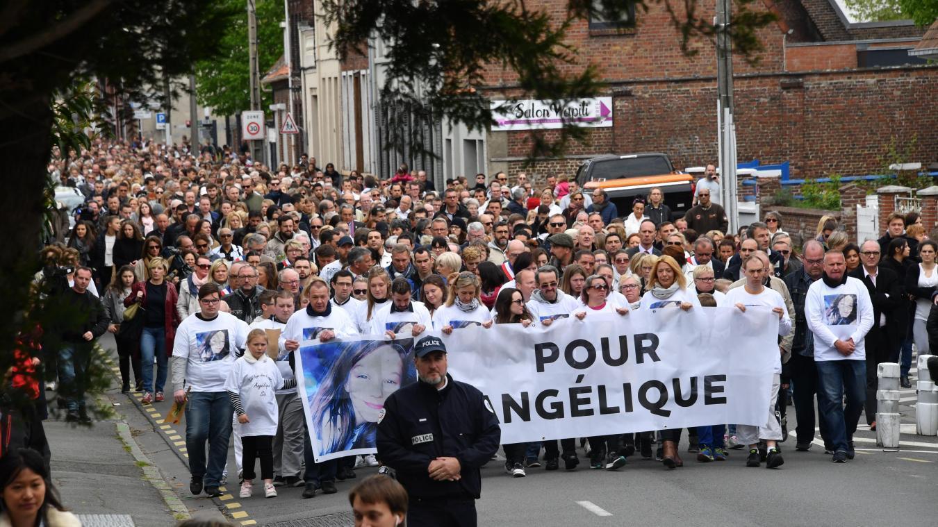 Les habitants de Wambrechies ont rendu un dernier hommage à Angélique