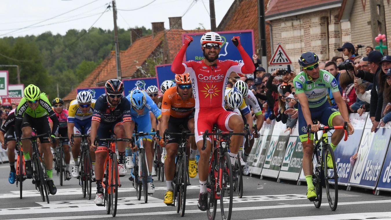 Nacer Bouhanni retrouve le sourire à Ecques (photos) — Cyclisme