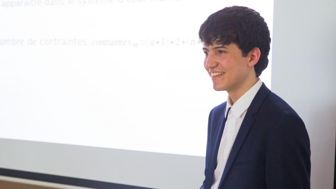 A 17 ans, Hugo est le plus jeune docteur de l'université — Lille
