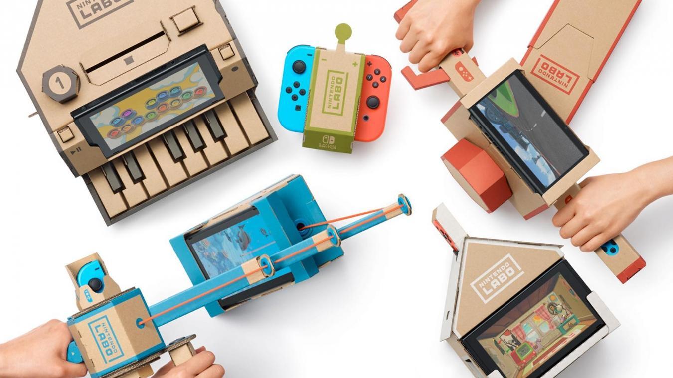 Comment Fabriquer Une Télé En Carton jeu vidéo construire, jouer, découvrir, nintendo labo a tout