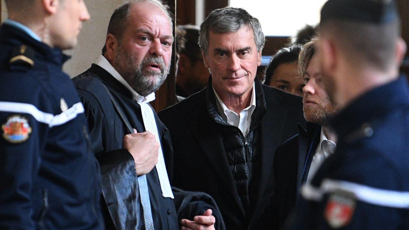 Son nouveau conseil Eric Dupond-Moretti suggérait d'alourdir la peine mais de l'assortir du sursis mettant en garde la cour contre le risque de suicide de son client