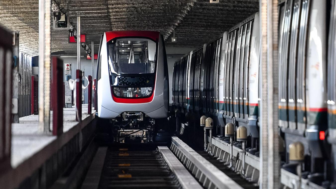 Transpole A Lille Des Rames Du Metro Nouvelle Generation Sont