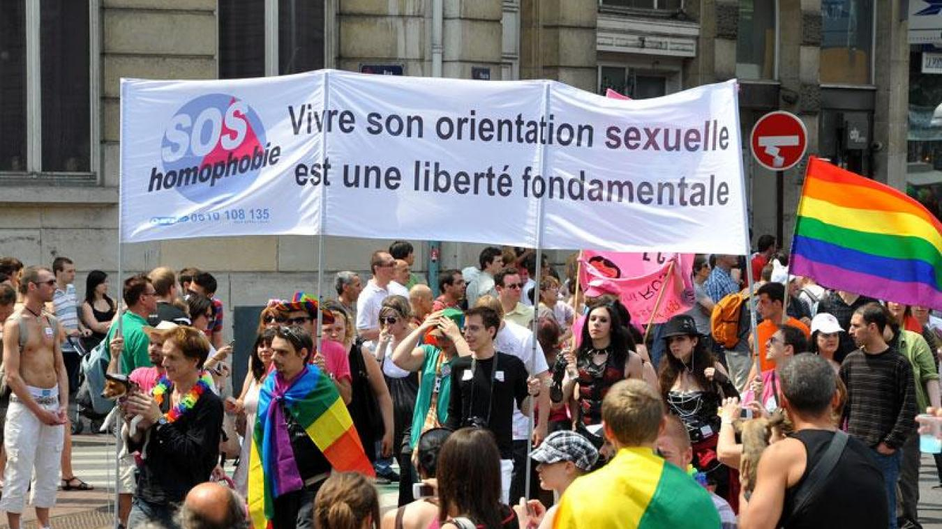 Les signalements d'actes homophobes en hausse en 2017 dans la région