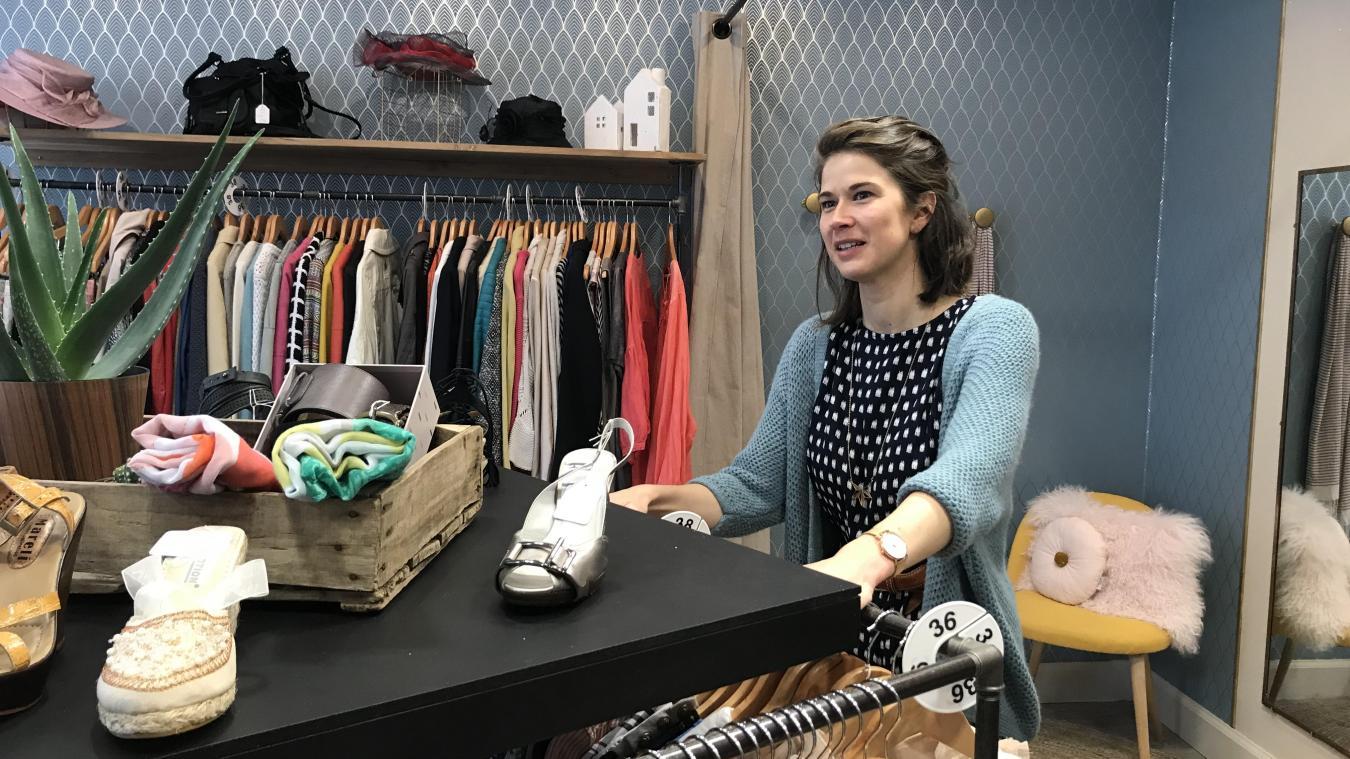 Avant d ouvrir sa boutique, Justine Marby a exercé la kiné pendant neuf ans be3e1495621