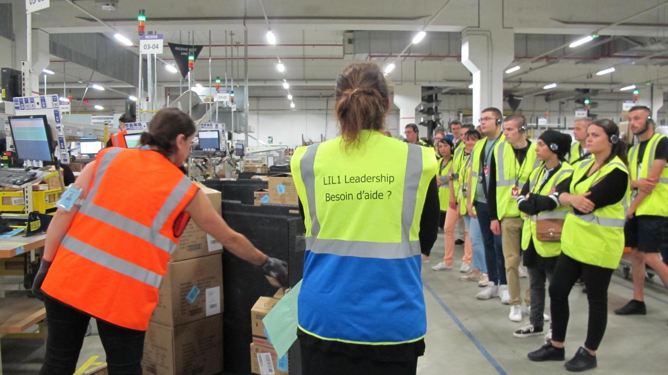 Lauwin Planque Amazon Recrute Cette Annee Cinq Cents Salaries En Cdi