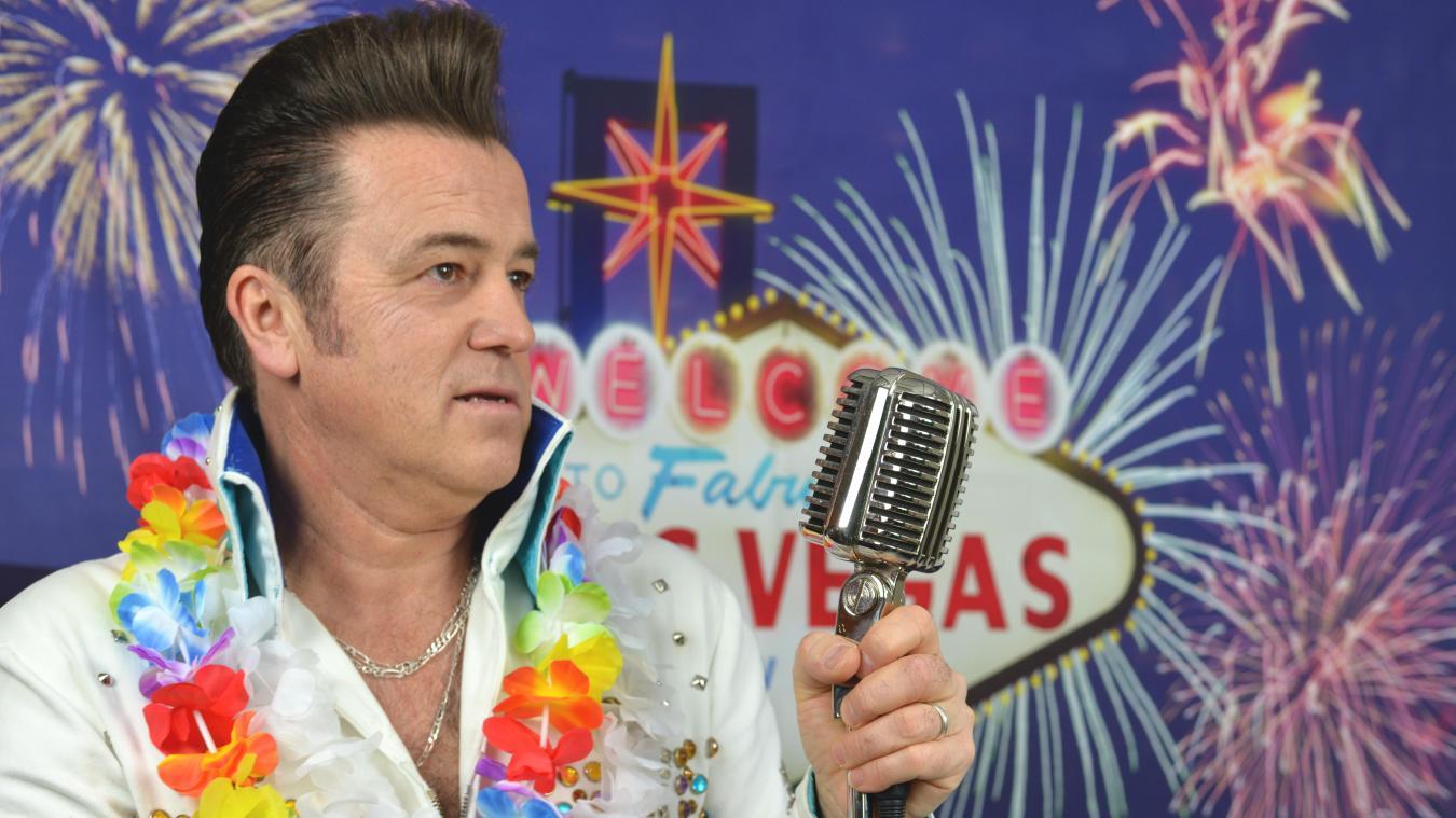 7c6a0115c6d398 Régis Stevez, alias Rick Cavan, fait perdurer le mythe d Elvis Presley dans