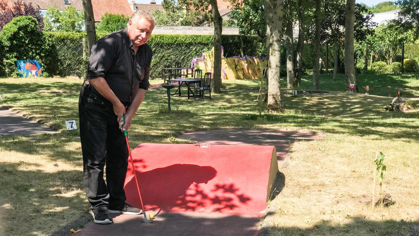 Étaples: le mini-golf a rouvert avec une déco pleine de surprises