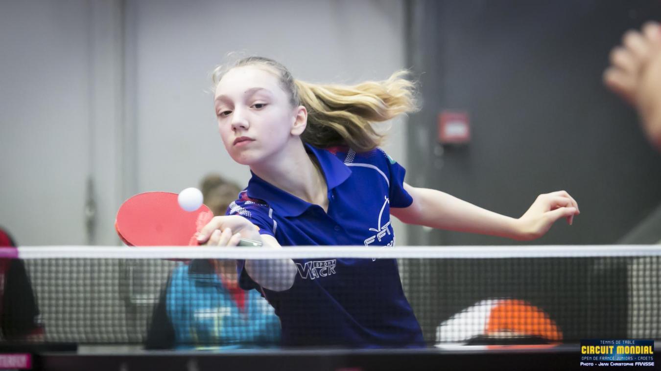 Tennis de table - Euro : Lucie Farcy, une vie de haut niveau, 7h par  semaine, à seulement 7ans