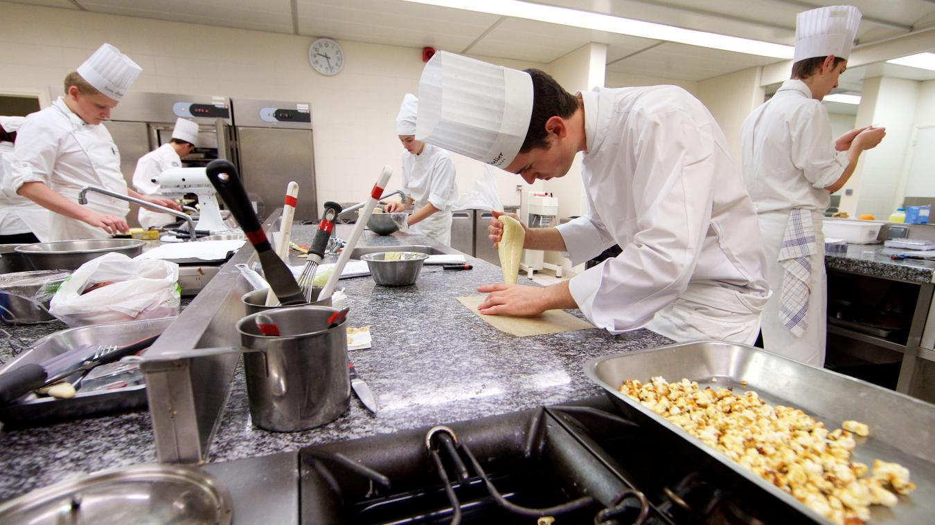 Durant leur formation, les élèves de CAP cuisine pourront bénéficier de plateaux techniques et d'un restaurant pédagogique. PHOTO JOHAN BEN AZZOUZ