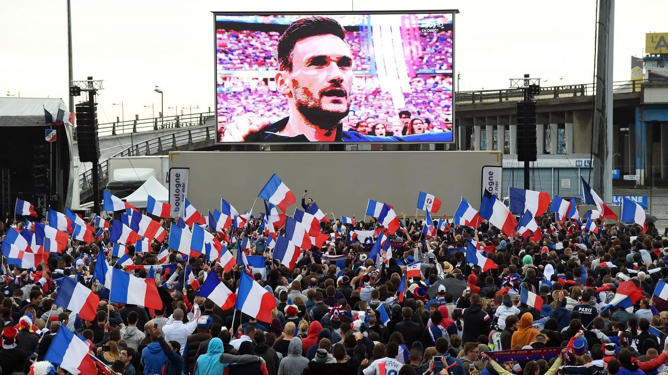 Lors de la finale de l'Euro 2016 les Boulonnais avaient assisté à la défaite des Bleus face à un écran géant sur le site de l'Éperon