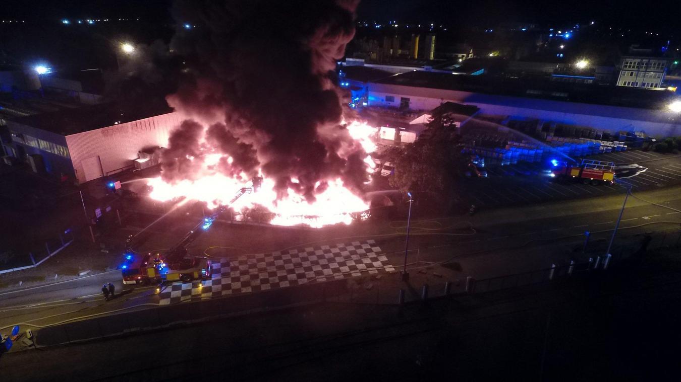 Soprema un important incendie a t ma tris dans la - Soprema strasbourg ...
