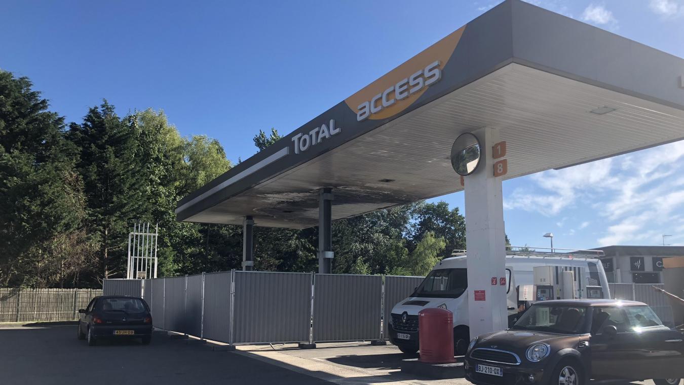 Cucq Après L Incendie La Station Total Rouvre Ses Pompes à Essence