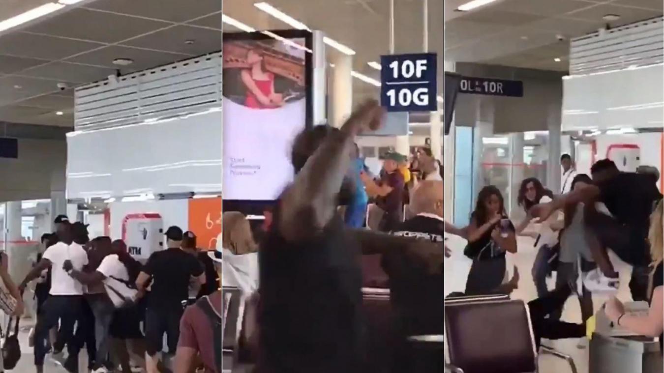 Une violente bagarre éclate entre Booba et Kaaris en plein aéroport d'Orly