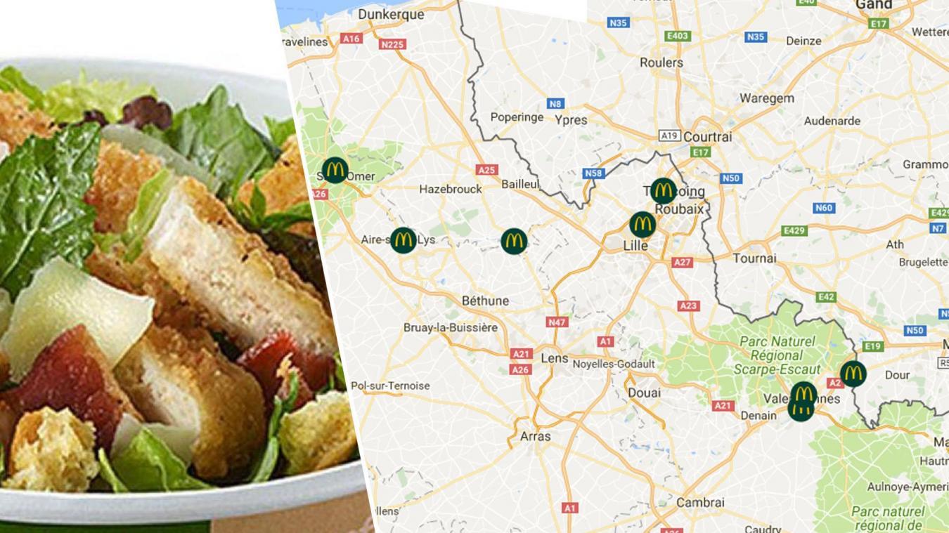 Listeria chez McDonald's : des restaurants concernés en Normandie