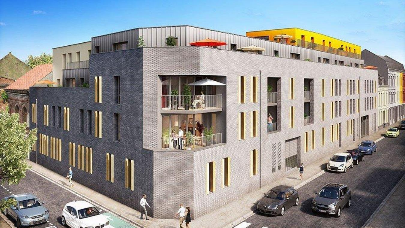 4379a3db485 Lille  La rue Paul-Lafargue poursuit sa révolution immobilière