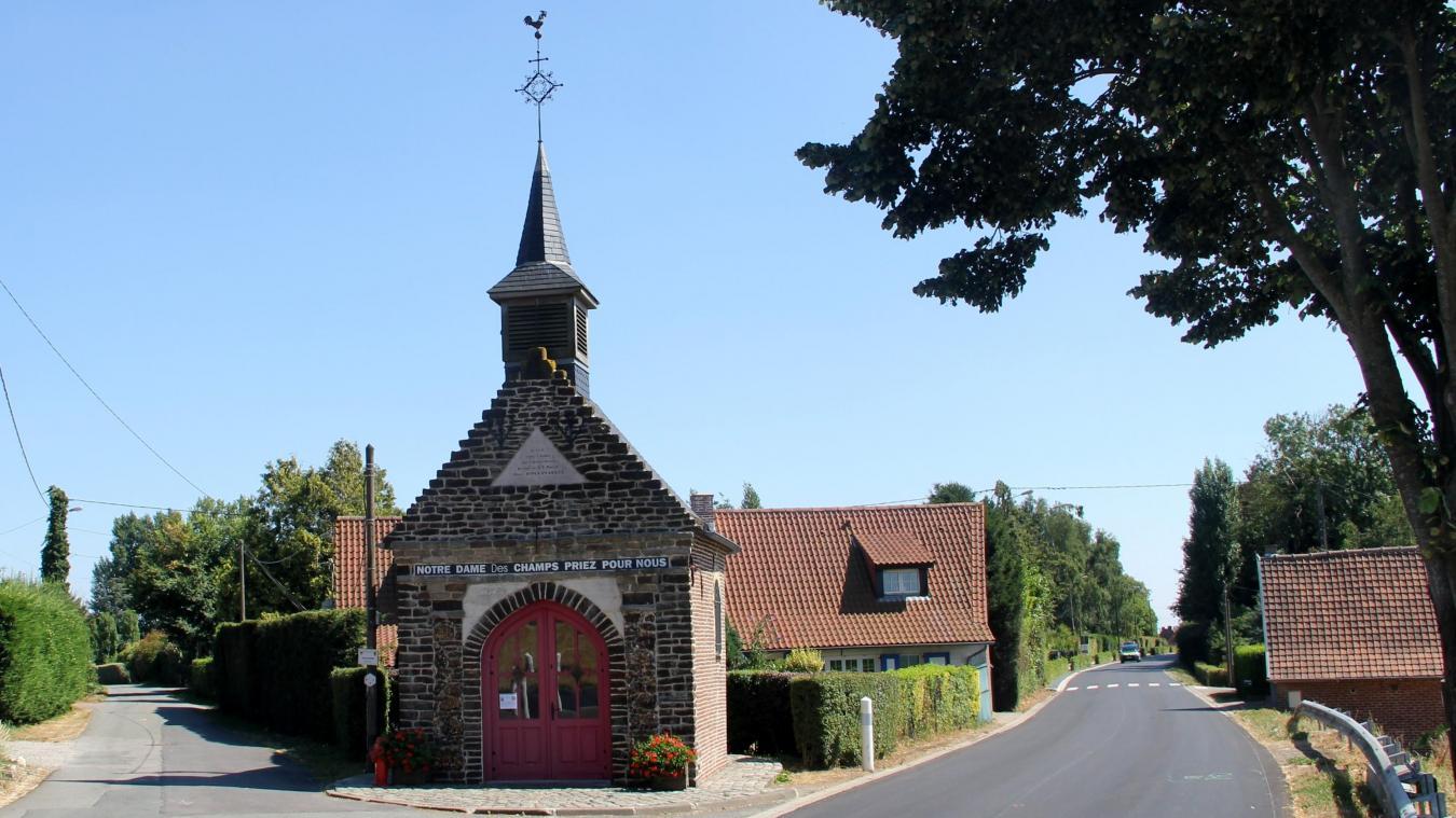 La chapelle dédiée à Notre-Dame-des-Champs.