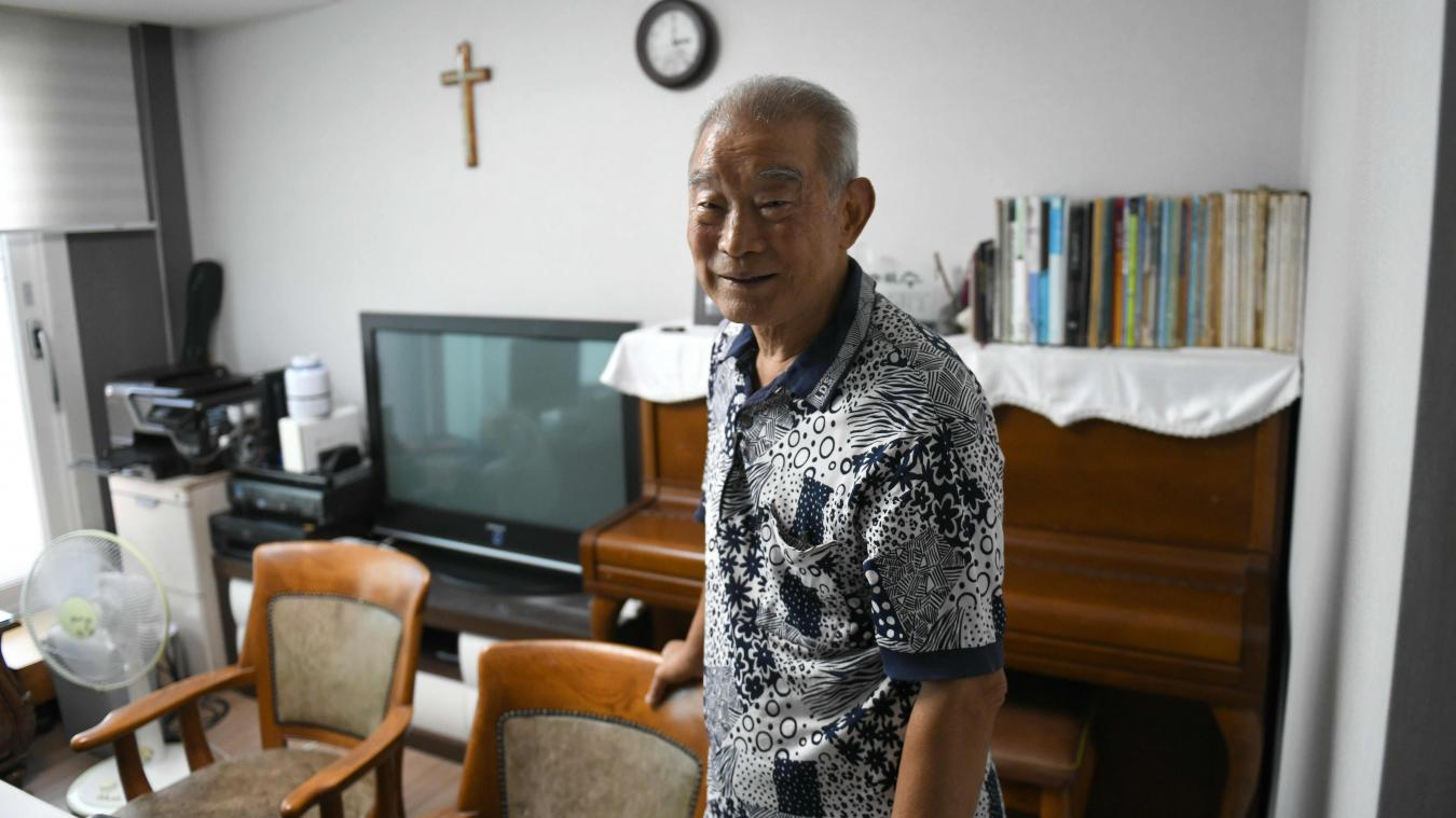 Ils retrouvent leurs familles 68 ans après — Corée