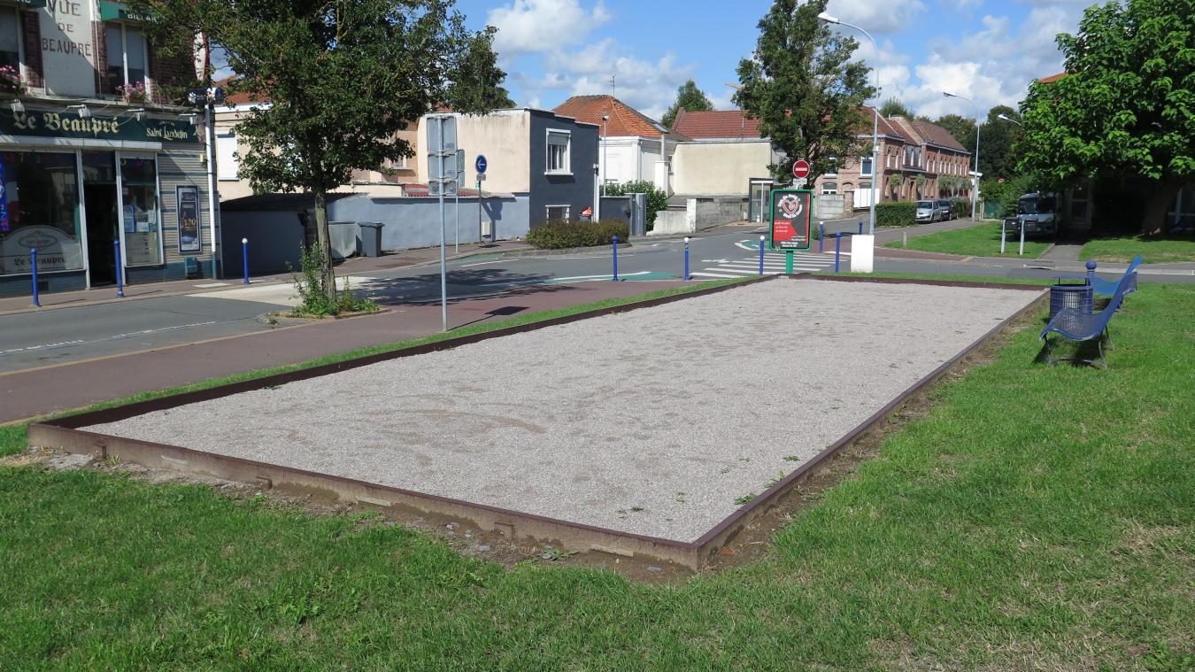Dimension Terrain De Petanque Maison haubourdin plusieurs terrains de pétanque ont été aménagés
