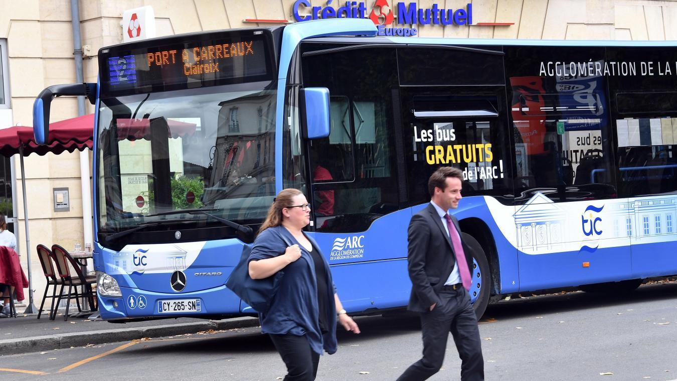 """Résultat de recherche d'images pour """"bus gratuit compiègne"""""""