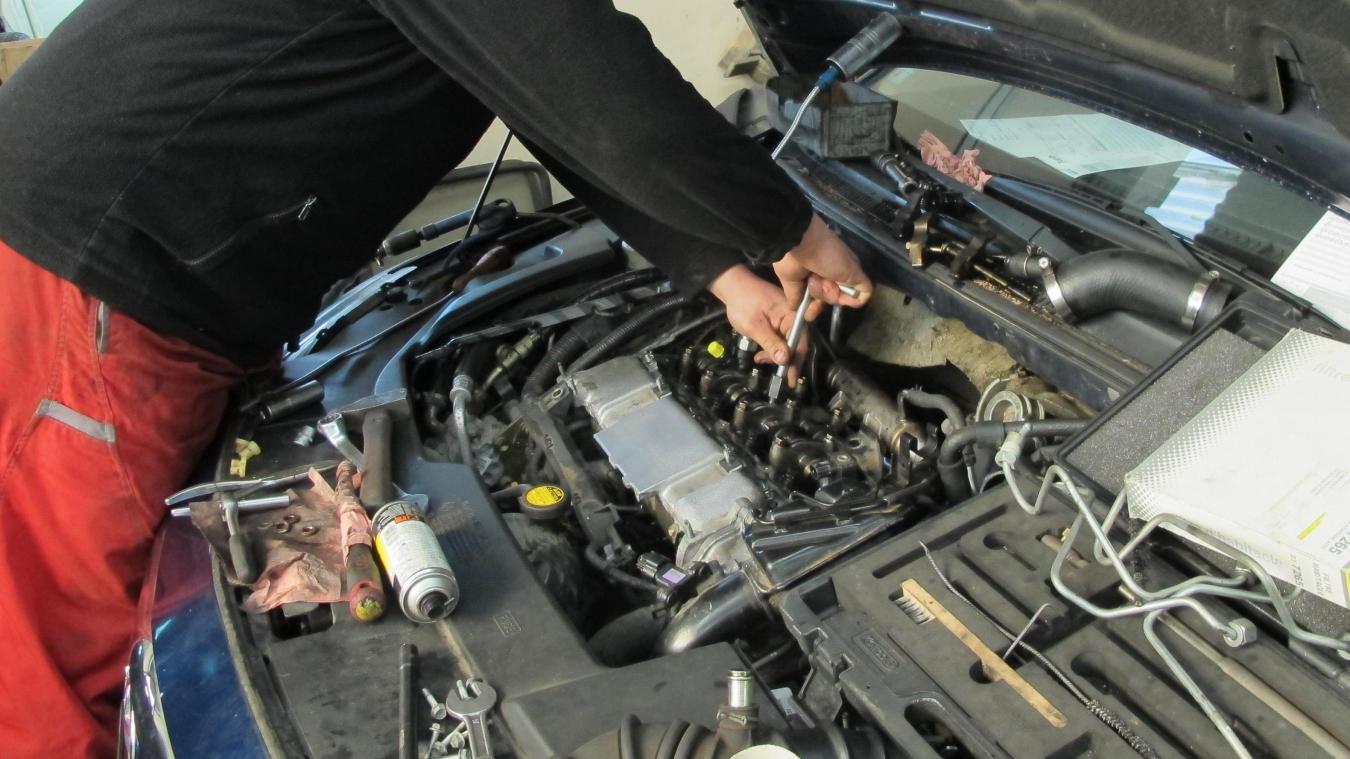 Dans ce garage de la zone d activités des Peupliers, les enquêteurs ont  trouvé 86492a949672