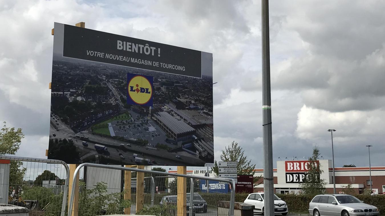 Tourcoing Un Nouveau Lidl Face A Brico Depot