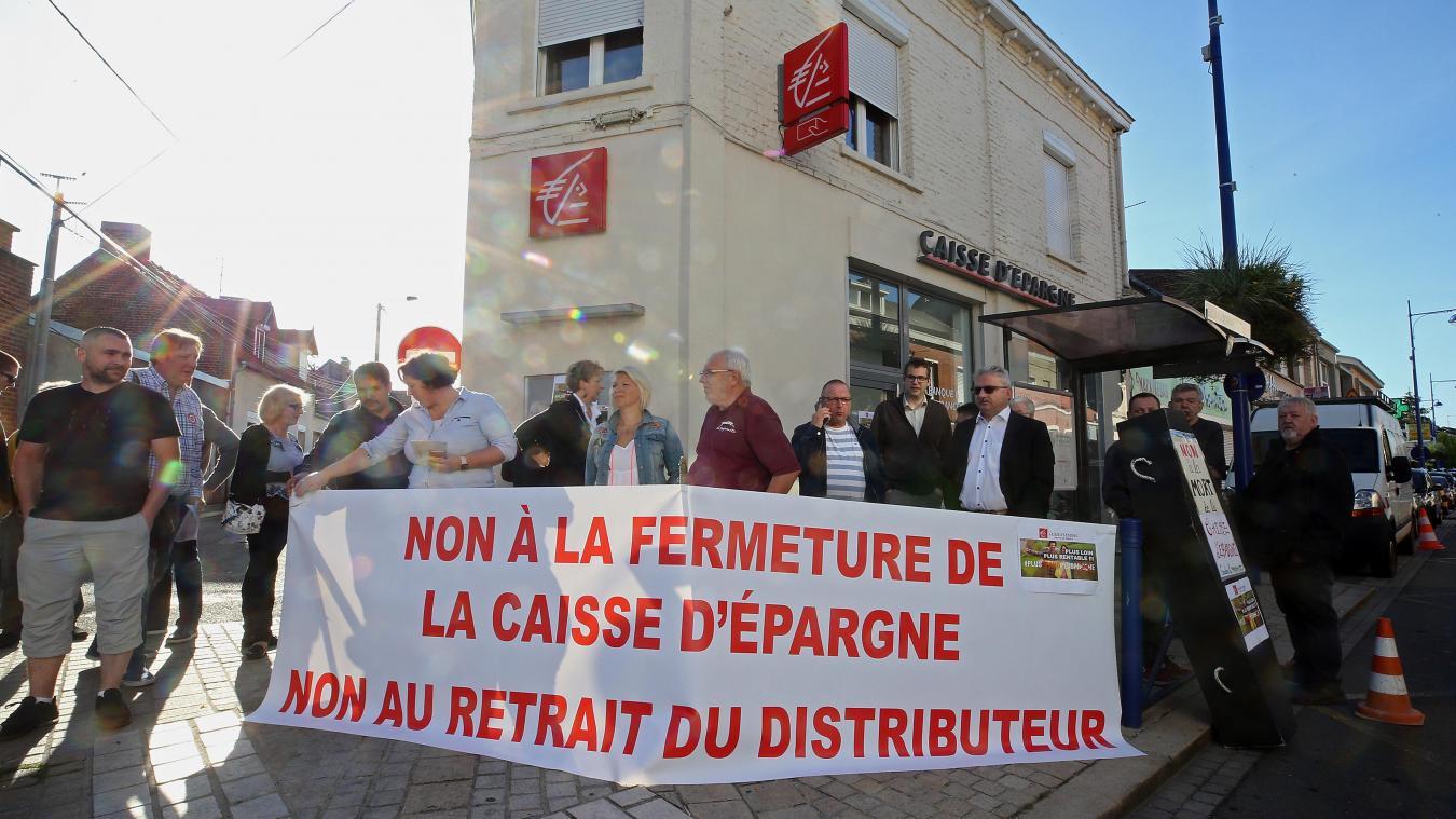Rouvroy Le Distributeur De La Caisse D Epargne Sera T Il Maintenu