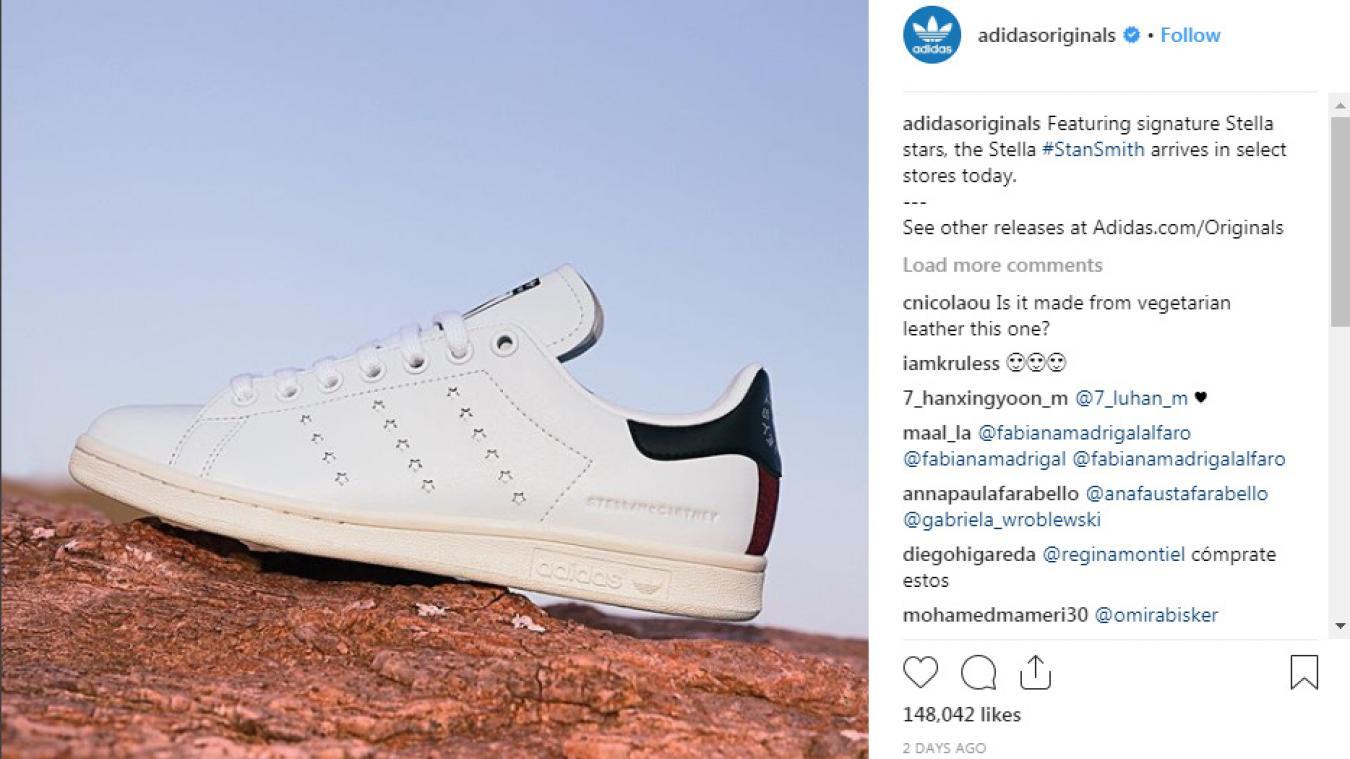 reputable site 81f07 8757d Mode: Adidas et Stella McCartney sortent la première paire ...
