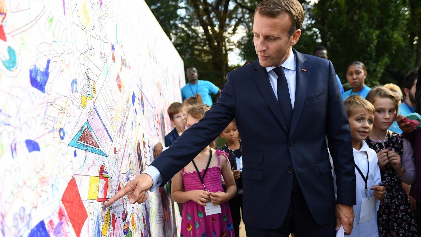 Quand Macron fait la morale à un jeune chômeur