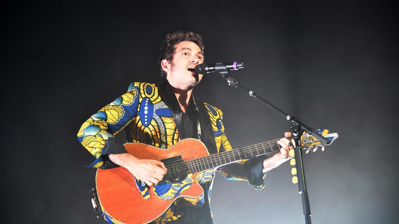 Matthieu Chedid en concert en avril à l'Arena de Bordeaux