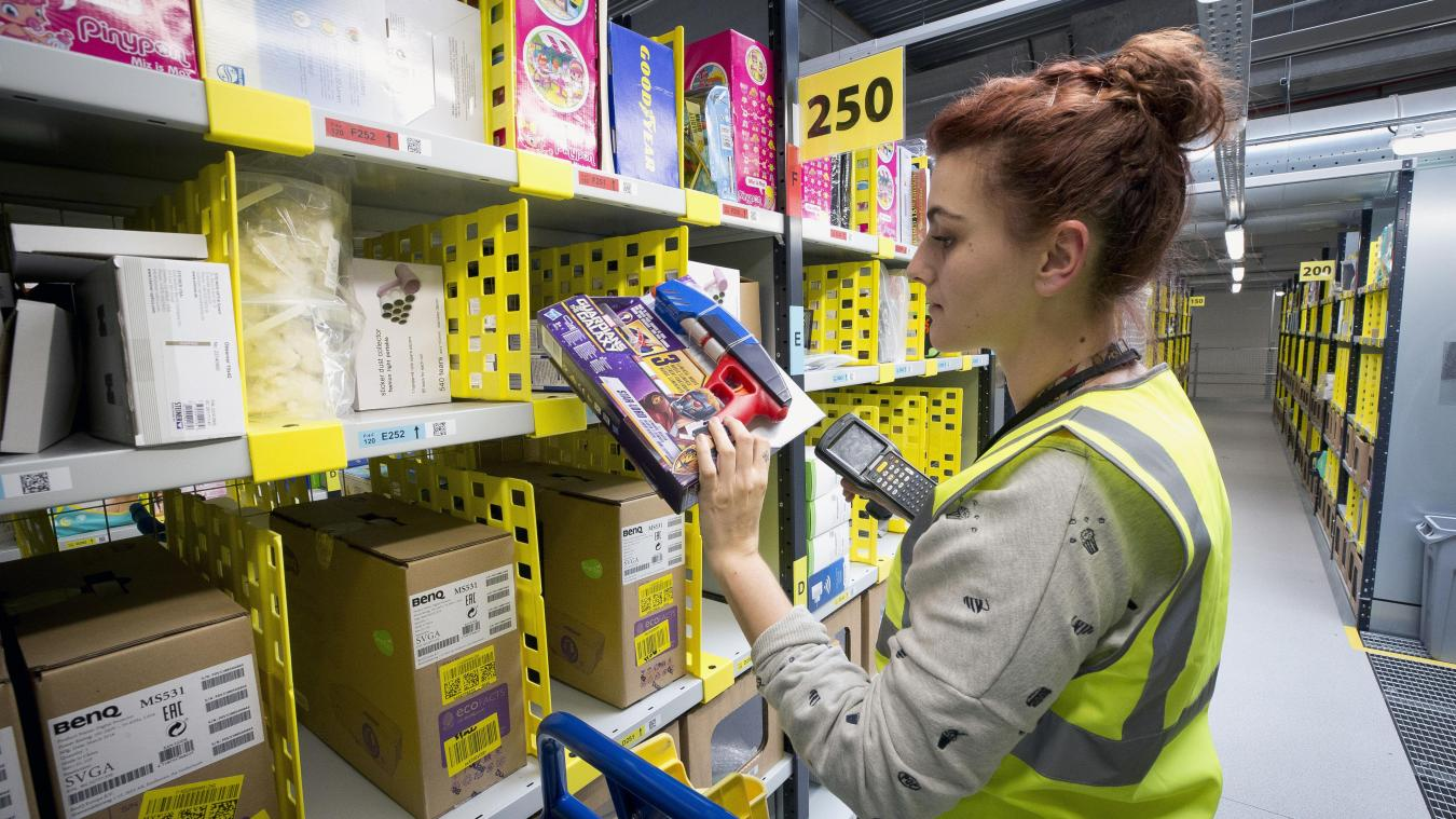 Amazon propose 7 500 emplois temporaires en France pour les fêtes