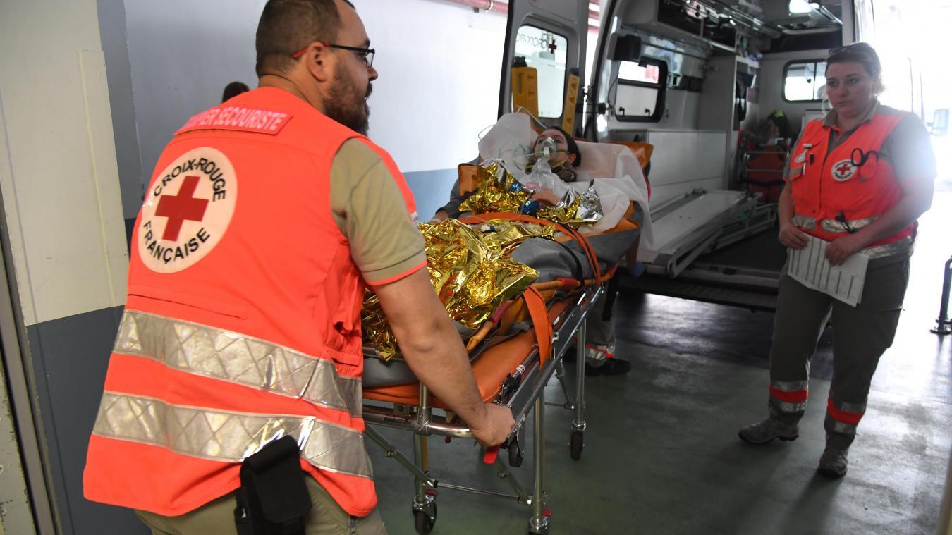 Lille: Simulation de crise à l'hôpital Le Bois, un exercice ...