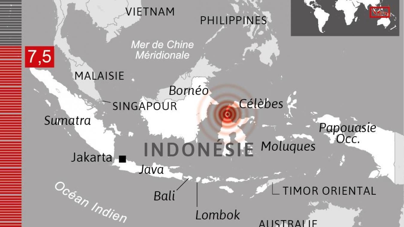 Tsunami : Le bilan passe à 832 morts