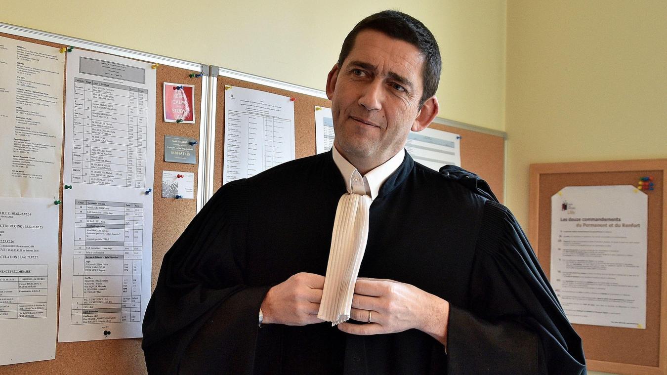 L'avocat Jean-Yves Moyart défend un ancien syndicaliste FO soupçonné d'avoir empoché des cotisations d'adhérents. PHOTO PATRICK JAMES