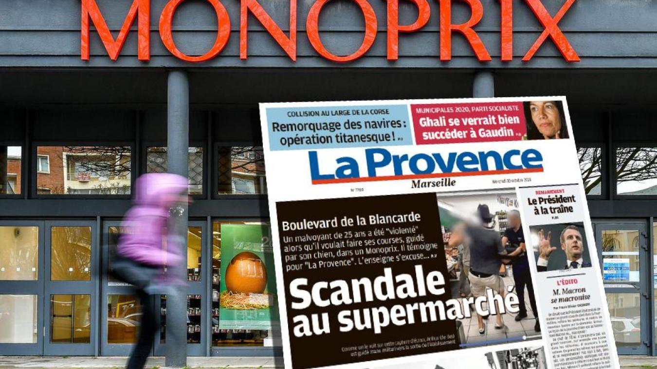 Un aveugle expulsé d'un supermarché avec son chien guide — Marseille
